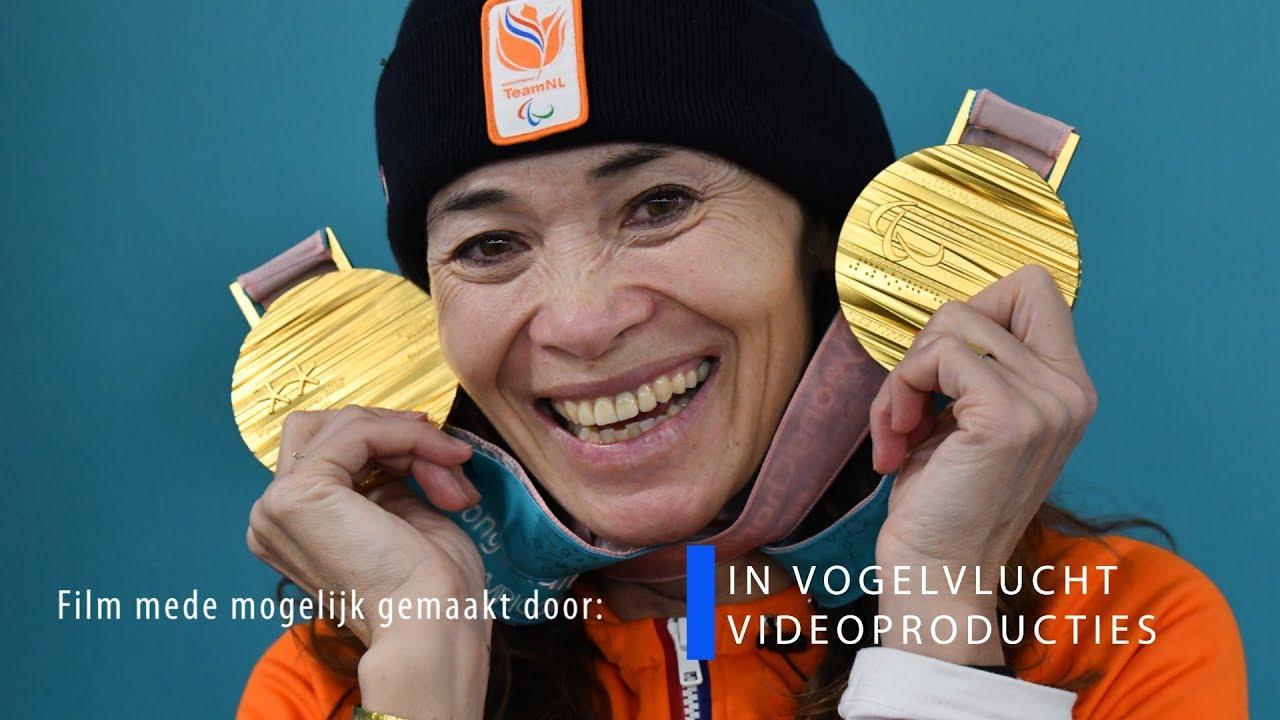 Bibian Mentel wint 2 gouden medailles in PyeongChang 2018 - YouTube