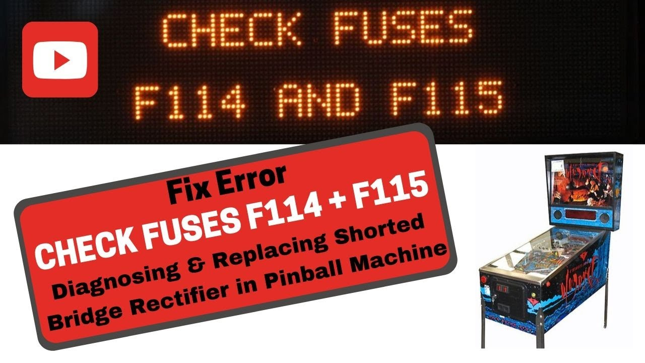 big discount release date the best attitude Pinball Repair