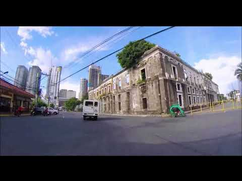 (Manila) Electric kickboard riding around Intramuros Manila Philippines -  Gopro hero 3+
