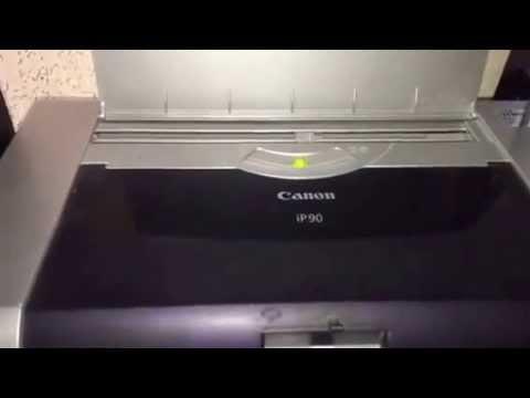 Fix for Canon iP90 Printer Errors