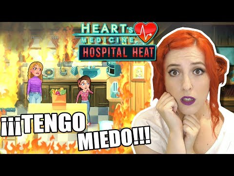 ¡¡ INCENDIO !! ¿¿ESTO ES EL FIN?? 🔥🔥🔥   Ep.9   HEART'S MEDICINE - HOSPITAL HEAT