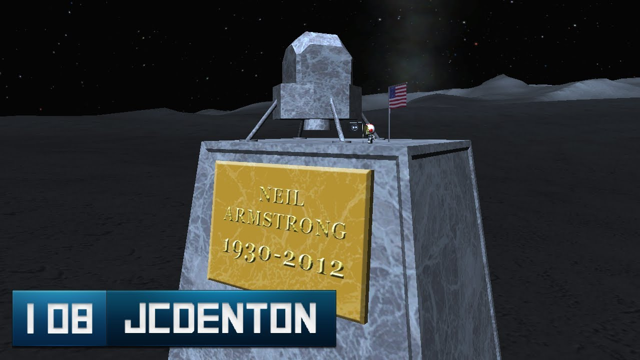 Installation 08 - KSP - Neil Armstrong Memorial. - YouTube