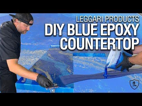 Awesome Epoxy Countertop | Leggari