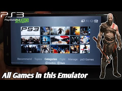 Download PS3 Emulator On Android (offline) |How To Play Ps3 Games On Android |Dubo Console Emulator