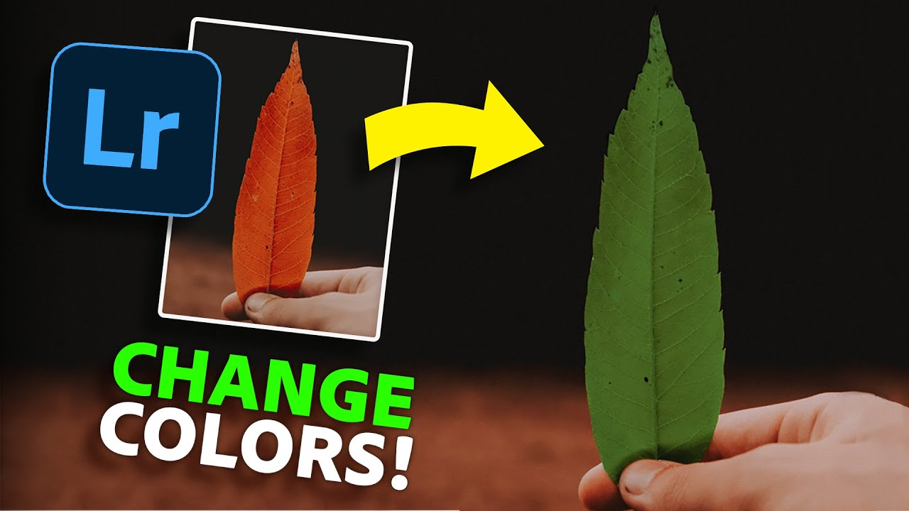 How To EASILY Change The Color of ANYTHING in Lightroom Mobile! 📱