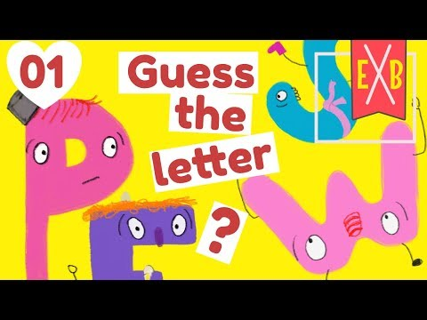 Alphabet Detective 1 : An ABC Guess the letter game