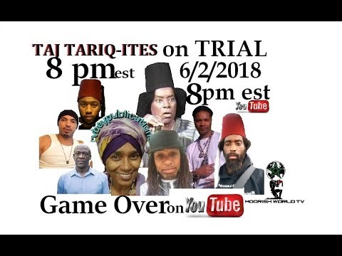 "Taj Tariq-ites, RV Bey, Canaanland Moors ""GAME OVER"" All Moors need to Tune In!"