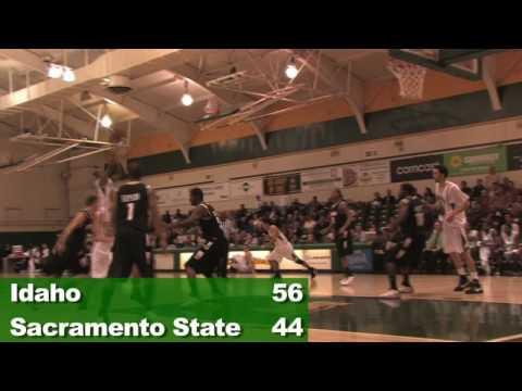 Idaho at Sac State 12-1-08 Mens Basketball