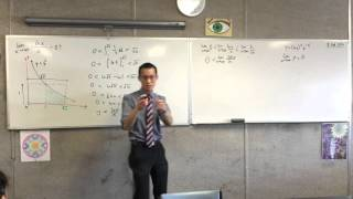 Exploring limits of lnx/x (2 of 2: Using a geometrical argument to help with the integration)