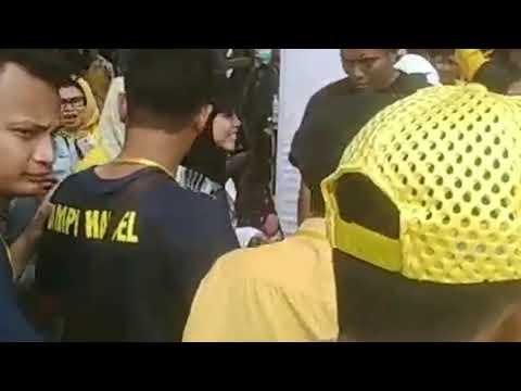 #LESTYDA KESERUAN OFF AIR LESTY DI BANJARMASIN DARI BELAKANG PANGGUNG SAMPAI DI ATAS PANGGUNG