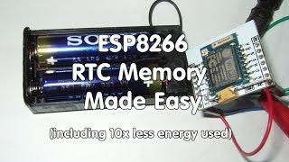eSP8266 RTC память