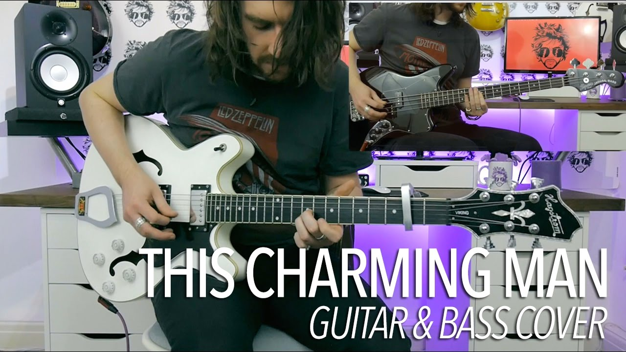 this charming man the smiths full guitar bass cover