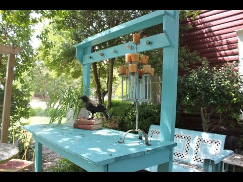Potting Bench Diy Youtube