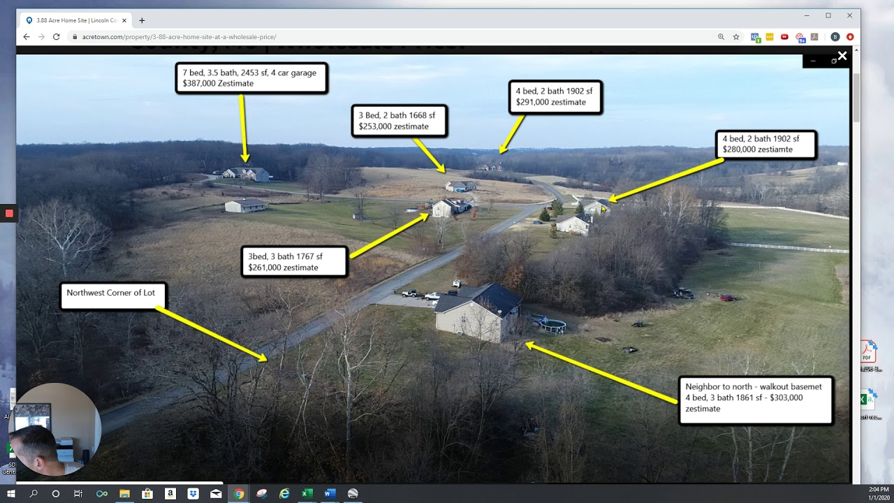 Lincoln County Homesite For Sale   3.88 Acres