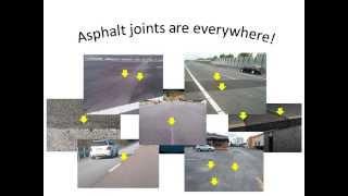 Asphalt  joints basics