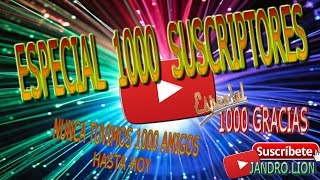 Especial 1000 suscriptores. #1000suscriptores #1000 #frikiretrogamer #especial1000(Ya somos 1000!! Este vídeo es el más largo que tengo en el canal...pero decidme, ¿como puedo recortar una aportación de vídeo que vosotros mismos queréis ..., 2016-12-21T15:00:06.000Z)