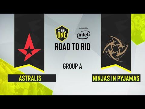 CS:GO -  Ninjas In Pyjamas Vs. Astralis [Vertigo] Map 1 - ESL One: Road To Rio - Group A - EU