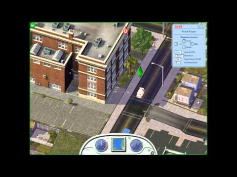 Sim City 4 Deluxe Edition Ep.1 I can't Drive!!!!!!!!!!! |