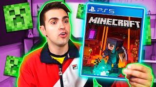 JUGANDO MINECRAFT en PS5 por PRIMERA VEZ !! 😱⛏️🔥 (Playstation 5)