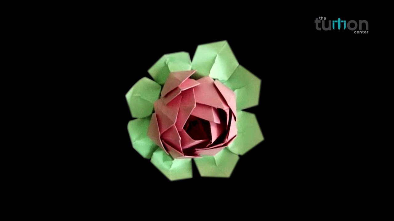 How to make paper origami lotus flower origami lotus flower how to make paper origami lotus flower origami lotus flower dhlflorist Image collections