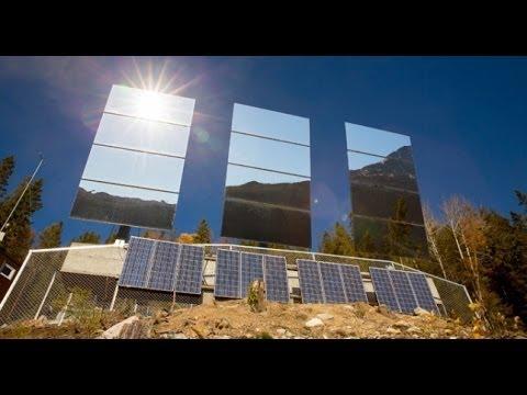 Un pueblo de Noruega instala espejos para reflejar la luz y tener más horas de sol al día
