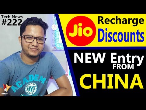 Tech News of The Day #222 - Jio Recharge Cashback,Comio Smartphones,Evok Dual Note,Coolpad Cool M7