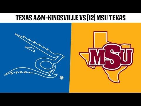 FB: Texas A&MKingsville vs 12 MSU Texas