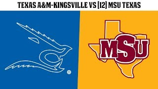 FB: Texas A&M-Kingsville vs [12] MSU Texas