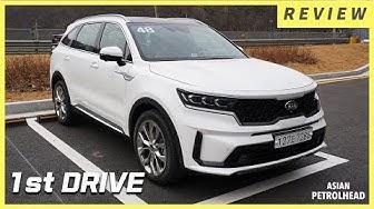 KIA SORENTO First Drive -  Kia Sorento 2021. Kia Optima or Kia Sorento? Baby Kia Telluride?