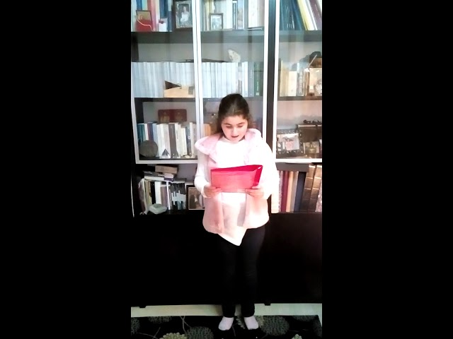 Изображение предпросмотра прочтения – ОльгаКолетси читает произведение «Котёнок» Е.А.Благининой