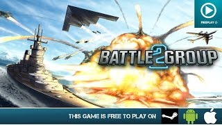 Battle Group 2 Free On PC, Android & iOS Gameplay Trailer