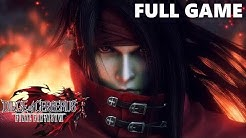 Dirge of Cerberus: Final Fantasy VII Full Walkthrough Gameplay - No Commentary (PS2 Longplay)