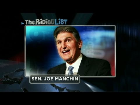 CNN: Sen. Joe Manchin lands on RidicuList