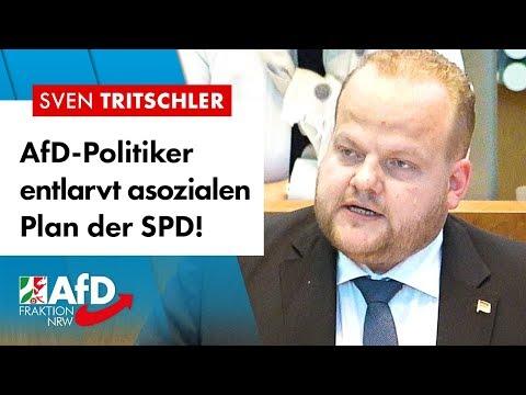 """""""Hochgradig asozialer"""" SPD-Plan entlarvt! – Sven Tritschler (AfD)"""