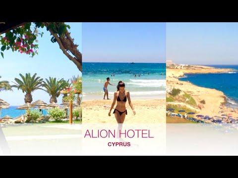 ALION  BEACH HOTEL VLOG - AYIA NAPA, CYPRUS (beach, yoga, tennis)