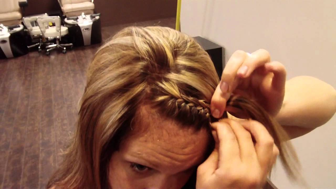 How To Do A Norwegian Braid On Youself Youtube