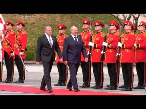 Встреча Лукашенко и Маргвелашвили состоялась в Тбилиси