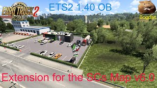 Extension for the SCS Map  v6.0 https://forum.scssoft.com/viewtopic.php?f=32&t=296486   f you have enjoyed watching my videos, please consider hitting the like button, and subscribing. Thank you