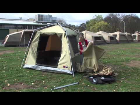 Pitching your BlackWolf Turbo tent & Pitching your BlackWolf Turbo tent - YouTube