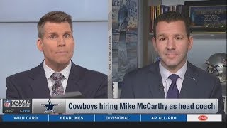 """Ian Rapoport on """"Is McCarthy the right fit for Dallas in 2020?"""""""