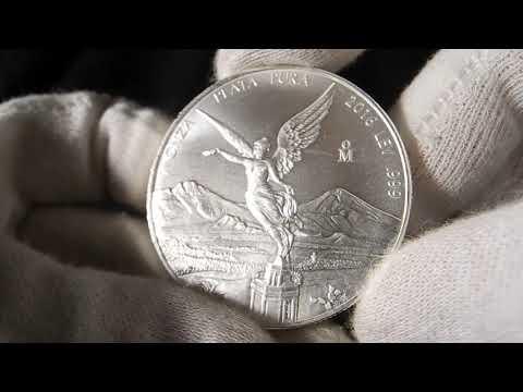 Серебряная монета Мексиканский Либертад 1 унция
