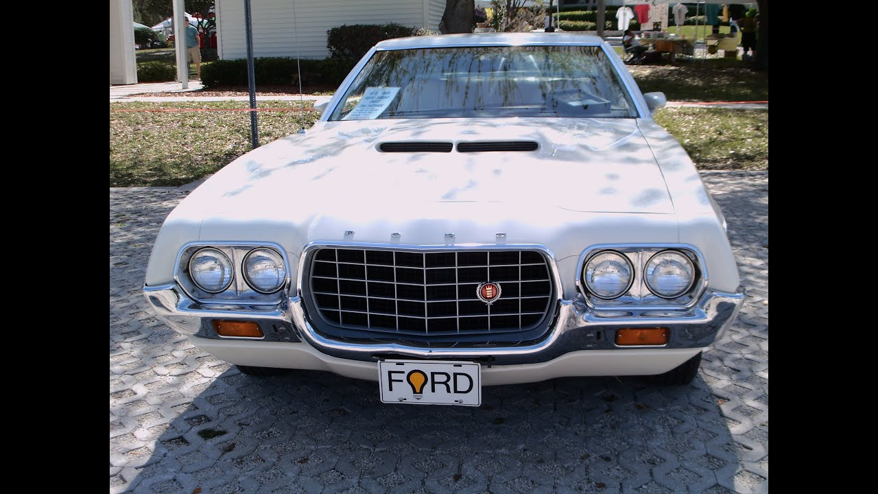 1972 ford gran torino sport whtocoee031712 youtube. Black Bedroom Furniture Sets. Home Design Ideas
