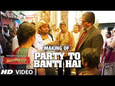 Song Making: Party Toh Banti Hai | Bhoothnath Returns | Amitabh Bachchan| Meet Bros Anjjan | Mika