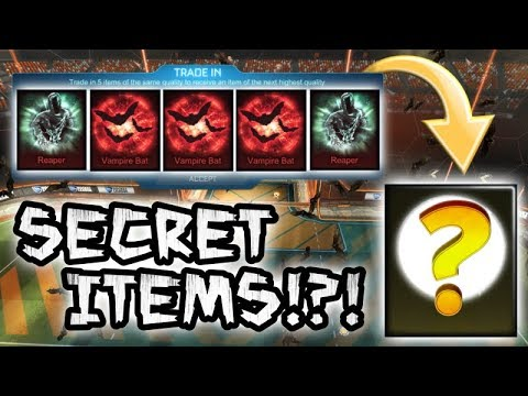 *SECRET ITEMS* TRADING UP 5 NEW GOAL EXPLOSIONS FOR SECRET EXOTIC WHEELS ON ROCKET LEAGUE?!?