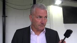 Gary Mills post-match Harrogate Town