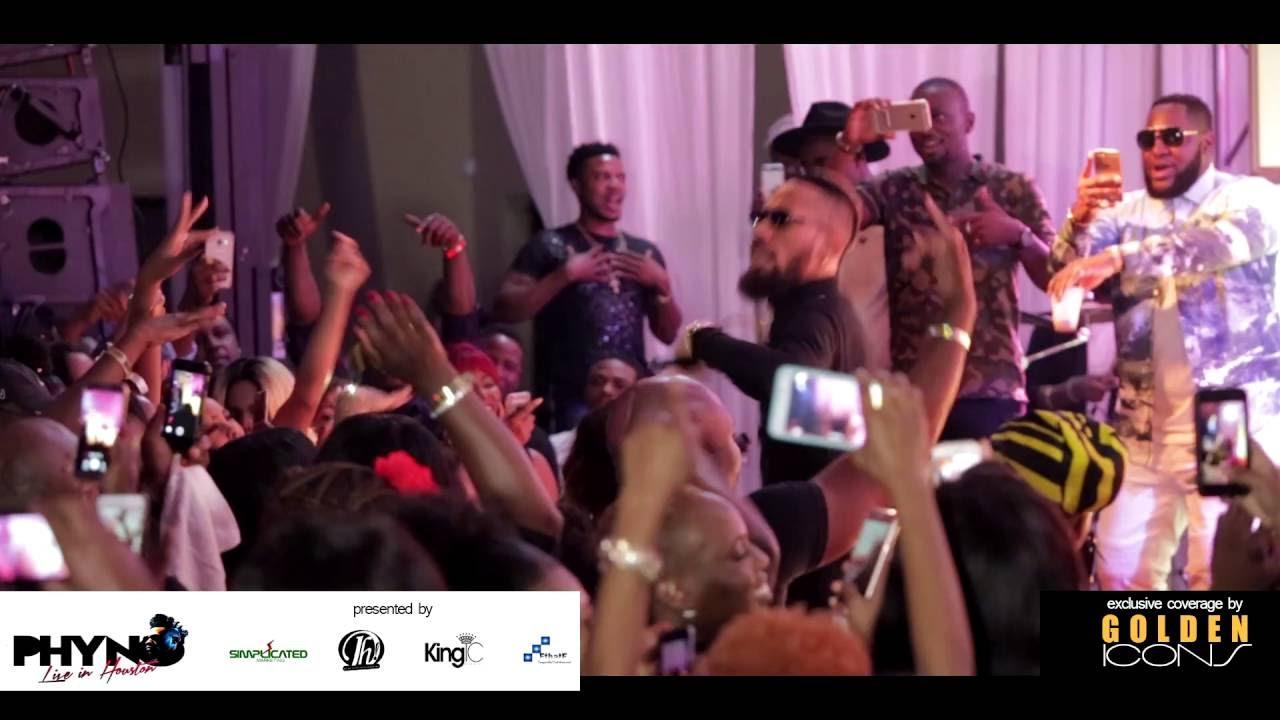 Download Phyno   Alobam [Official Concert Video] - Houston, Texas