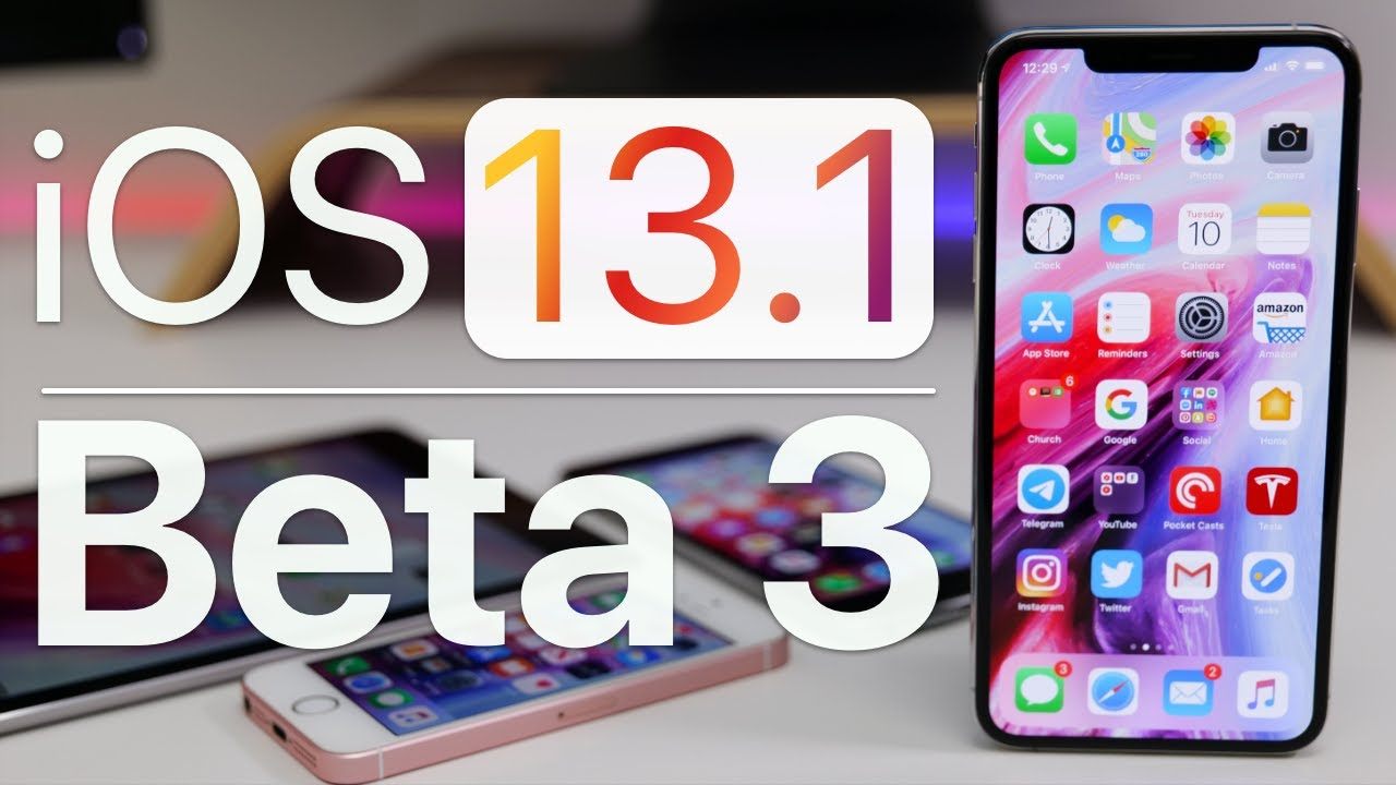 whats new in ios 13.1