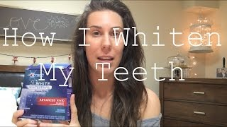 How I Use Crest Whitestrips {Tips & Tricks} Thumbnail