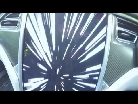 Tesla Model S P90D Ludicrous Mode - Space Balls easter egg | Parkers