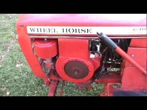 1979 Wheel Horse C-111 Garden Tractor